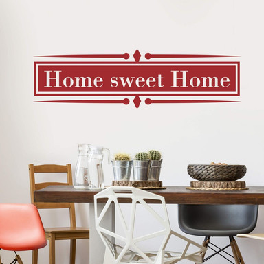 Wandtattoo Home sweet Home 5