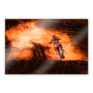 Acrylglasbild Igor - Motorcross