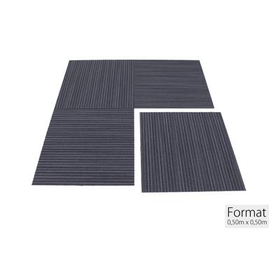 Impact Lineations Teppichfliese 50x50cm