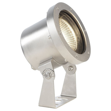 LED Unterwasserleuchte Fiara in Silber und Transparent 18.5W 1200lm IP68