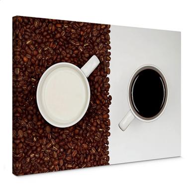 Leinwandbild Lavsen - White Espresso