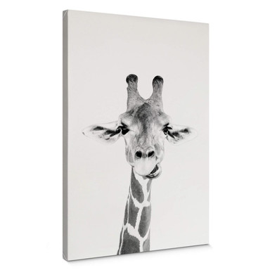 Leinwandbild Sisi & Seb - Happy Giraffe
