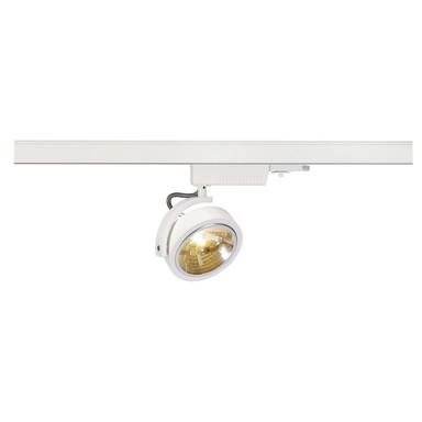 Leuchtenspot Kalu Track für 3-Phasen-Stromschiene in weiss, inkl. Adapter, dreh- und schwenkbar