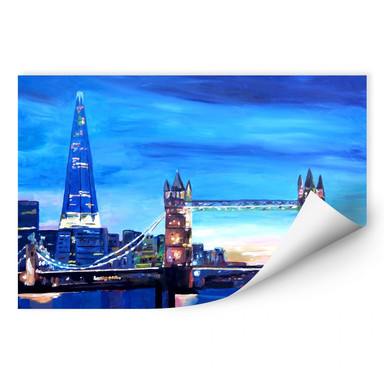 Wallprint Bleichner - London Tower Bridge und The Shard