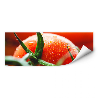 Wallprint Fresh Tomato - Panorama