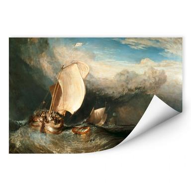 Wallprint Turner - Fischerboote