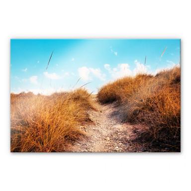 Acrylglasbild Strandaufgang