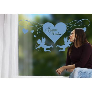 Glasdekor Cupido's Herz