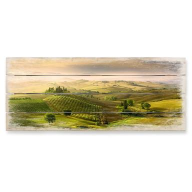 Holzbild Bratkovic - Podere Belvedere - Panorama - Bild 1