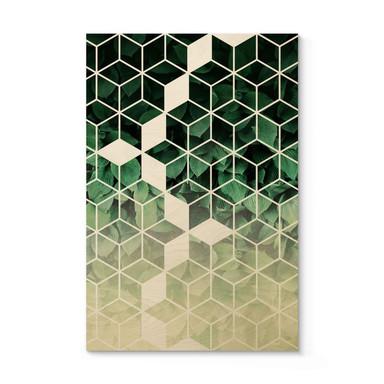 Holzposter Fredriksson - Natur trifft auf Geometrie