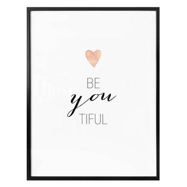 Poster Confetti & Cream - Be-you-tiful