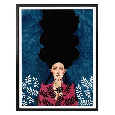 Poster Hülya - Verkleidung