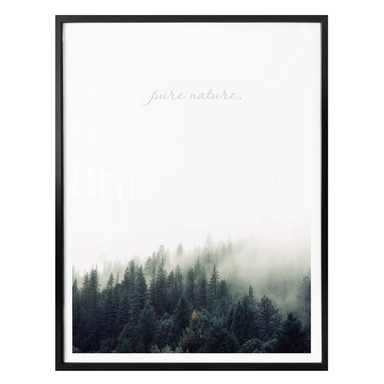 Poster mit Pure Nature