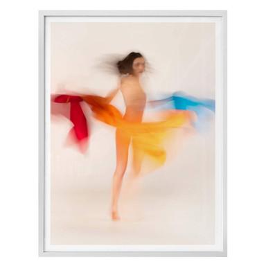 Poster Raga - Tanzende Farben