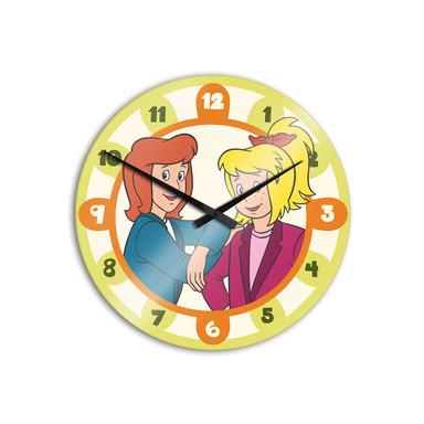 Wanduhr Bibi&Tina - Zwei Freundinnen - Bild 1