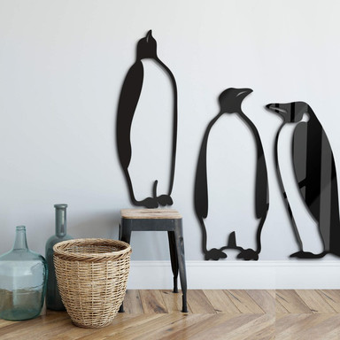 Acryldeko Pinguine (3-teilig)