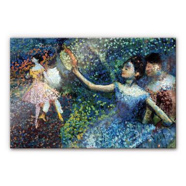 Acrylglasbild Degas - Tänzerin mit Tambourin