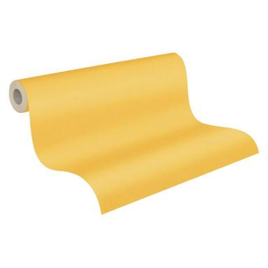 Architects Paper Vliestapete Floral Impression Unitapete einfarbig gelb