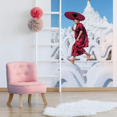 Fototapete Colombo - Der tanzende Mönch - 144x260cm - Bild 1
