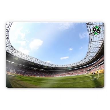 Glasbild Hannover 96 - Stadion Innenansicht