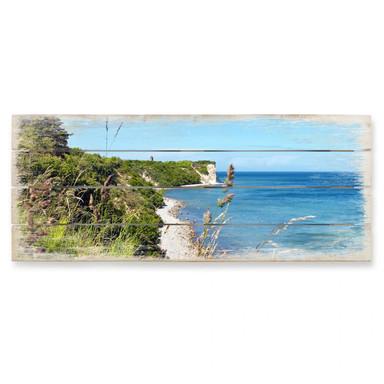 Holzbild Kap Arkona - Panorama