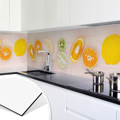 Küchenrückwand - Alu-Dibond - Limonaden Rezept