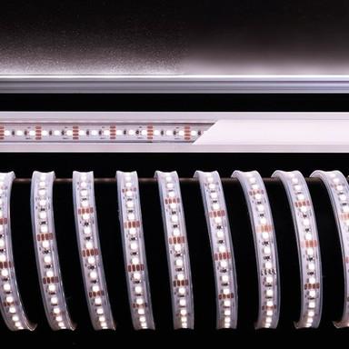 LED Stripe 3528-120-12V-3000K-6500K-5M-Silikon in Weiss 60W 4100lm IP67
