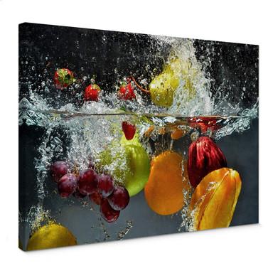 Leinwandbild Erfrischendes Obst