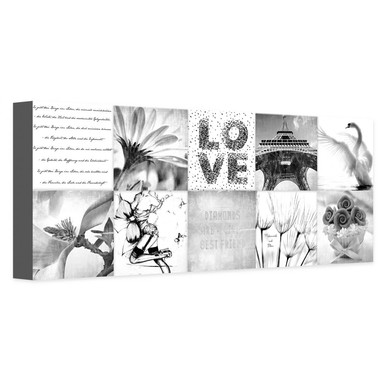 Leinwandbild Impressions of a Girly Life