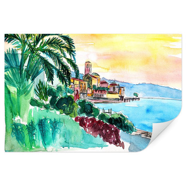 Wallprint Bleichner - Wonderful Lago Maggiore