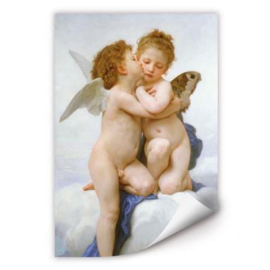 Wallprint Bouguereau - Der erste Kuss