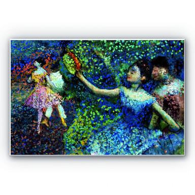 Wandbild Degas - Tänzerin mit Tambourin