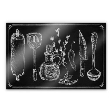 Acrylglasbild Rustic Kitchen
