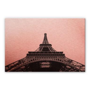 Alu-Dibond-Kupfereffekt - Eiffel-Tower
