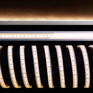 LED Stripe 3528-180-24V-2700K-5M-Silikon in Weiss 3800lm IP67