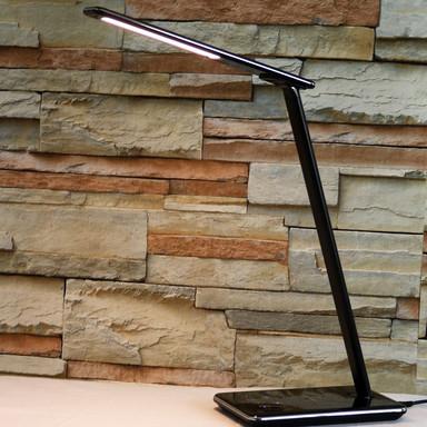 LED Tischleuchte Linka 6.4W 400lm dimmbar in Schwarz