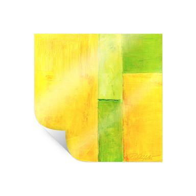 Poster Schüssler - Spring Composition III - quadratisch
