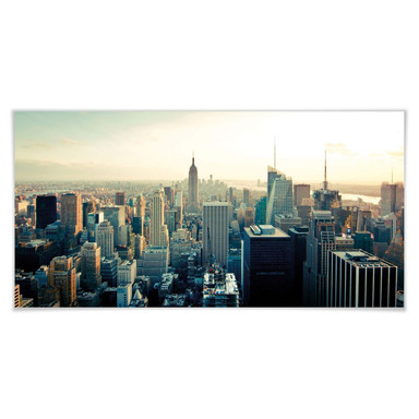 Poster Skyline von New York City