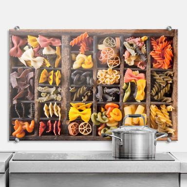 Spritzschutz Collection of Noodles
