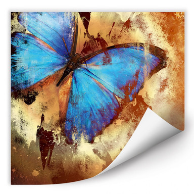 Wallprint Butterfly Ice