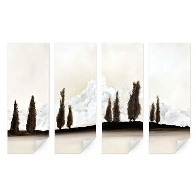 Wallprint Fedrau - Ruhe (4-teilig)