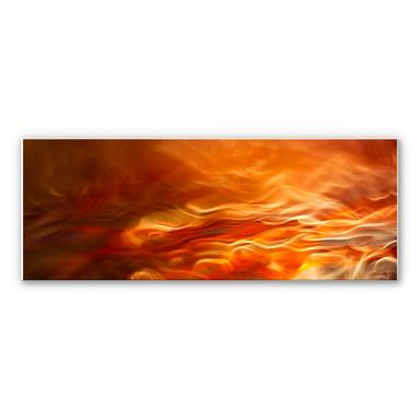 Wandbild Marthinussen - Burning Water - Panorama - Bild 1