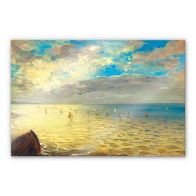Acrylglasbild Delacroix - Das Meer