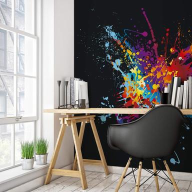 Fototapete Farbenexplosion