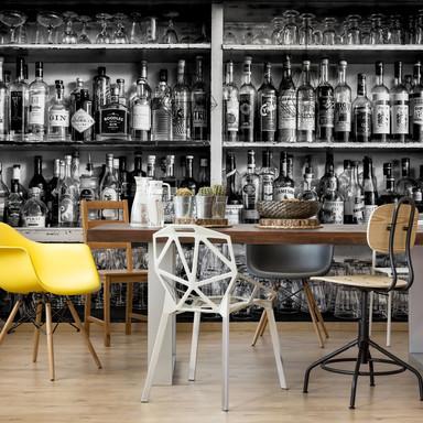 Fototapete Klein - The Classic Bar - 432x260cm - Bild 1