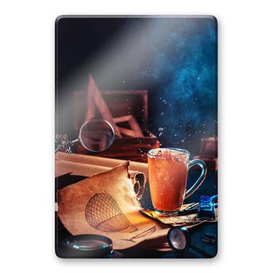 Glasbild Belenko - Steampunk Tea 02