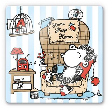 Glasbild sheepworld Home Sheep Home Music