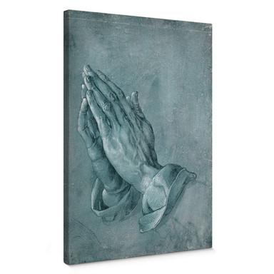Leinwandbild Dürer - Studie zu Betende Hände