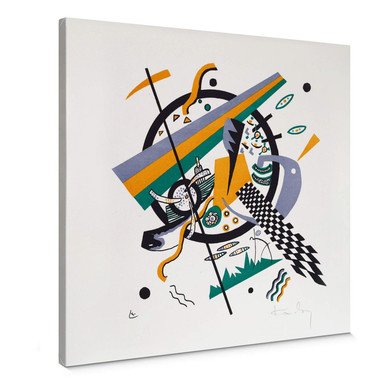 Leinwandbild Kandinsky - Kleine Welten 4