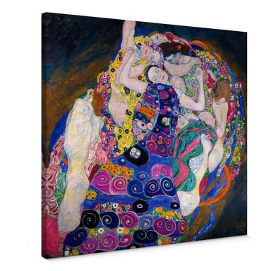 Leinwandbild Klimt - Die Jungfrau